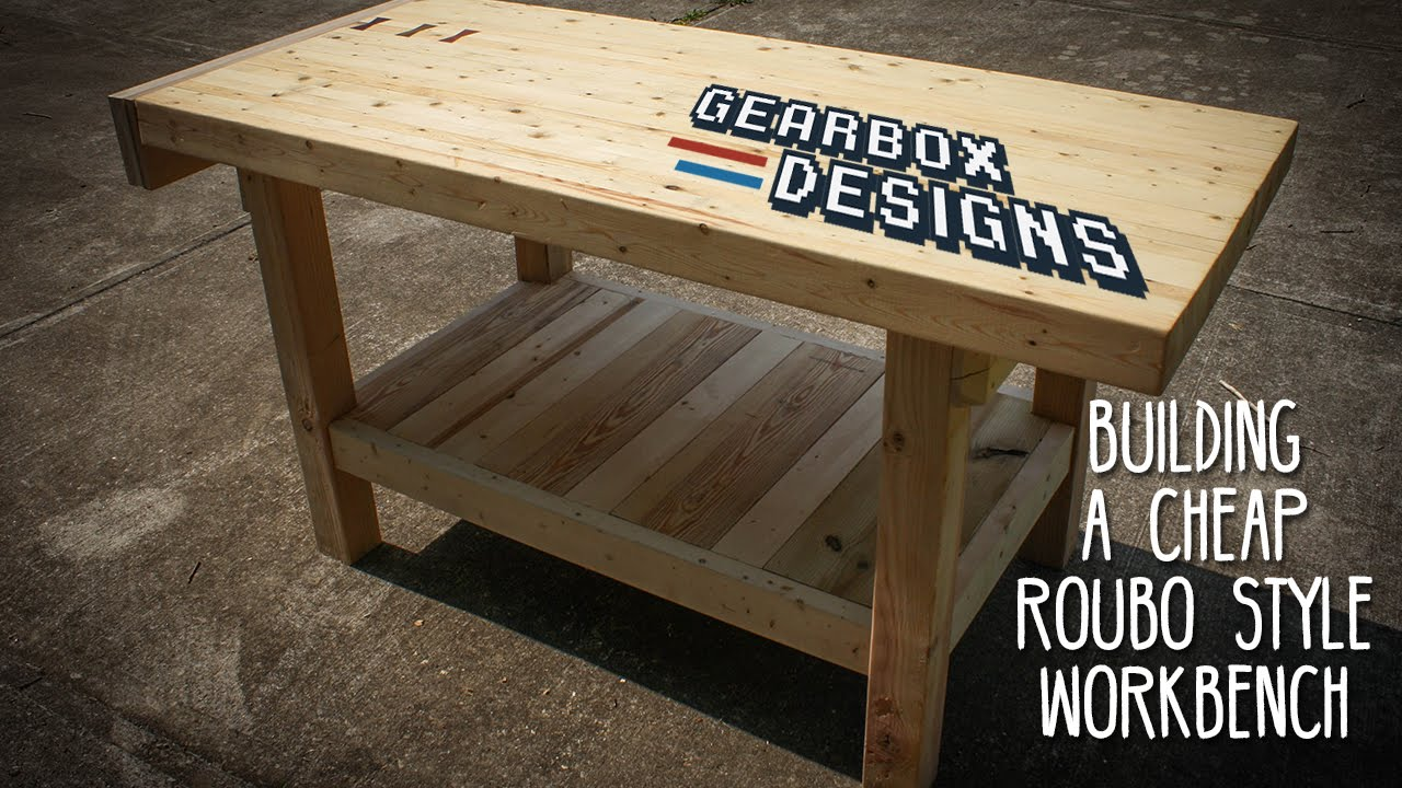 Building A Cheap Roubo Style Workbench Woodworking With