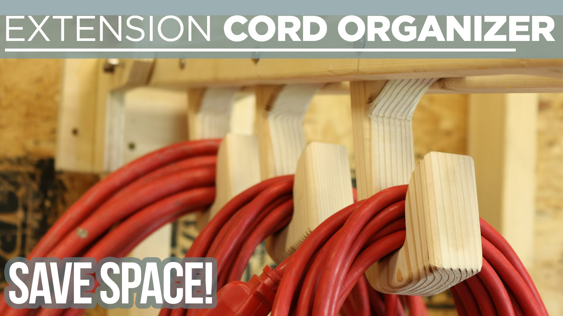 Folding Extension Cord Organizer Woodworking With Bruce: extension cable organizer