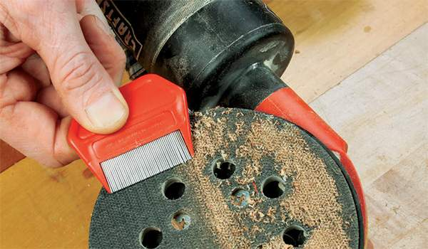 Cleaning Sander Pad