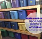 2x4 storage shelves